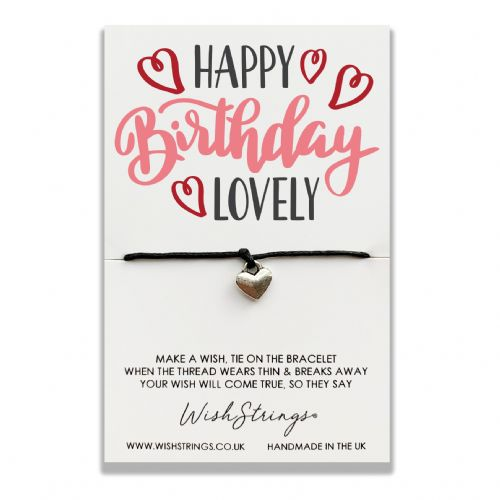 Happy Birthday Lovely Wishstring